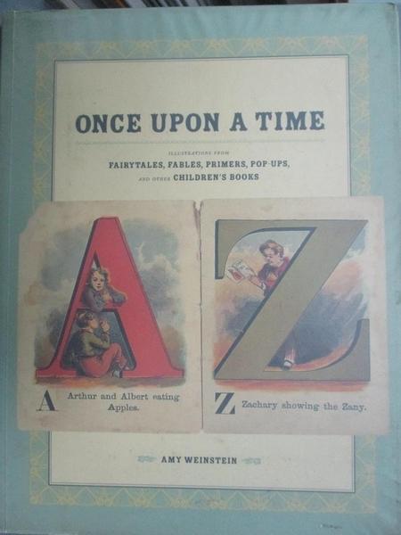 【書寶二手書T1/藝術_YBW】Once Upon a Time: Illustrations From...