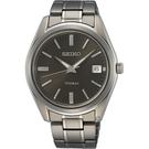 SEIKO精工 CS 經典簡約鈦金屬腕錶 6N52-00B0D SUR375P1