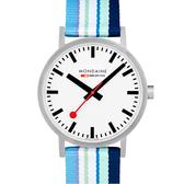 MONDAINE 瑞士國鐵 Classic系列腕錶 – 40mm / 藍 66016BP