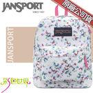 JANSPORT後背包包大容量JS-43501-0VZ朦朧花