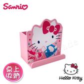 【Hello Kitty】凱蒂貓 造型筆筒 手機架 桌上收納 文具收納