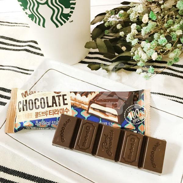 韓國 好麗友 醬心【Orion】Market O 提拉米蘇 巧克力棒