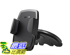 [106美國直購] Car Mount Anker CD Slot Universal Phone Holder for iPhone,Samsung and more black