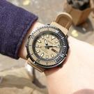 SEIKO 精工 / 4R36-08A0Q.SRPE29J1 / PROSPEX 鮪魚罐頭 潛水錶 機械錶 日期星期 矽膠手錶 卡其色 43mm
