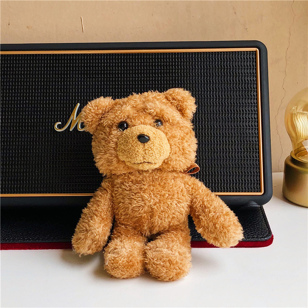 即將現貨 台灣發貨🍎獨家自制款Airpods2 藍芽耳機保護套 蘋果無線耳機保護套 秋冬毛絨公仔泰迪熊