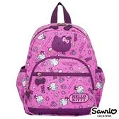 Hello Kitty-休閒潮流Ⅱ-後背包-大-粉紫-KT88B02PL