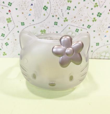 【震撼精品百貨】Hello Kitty 凱蒂貓~凱蒂貓 HELLO KITTY 車用杯架-透明大頭