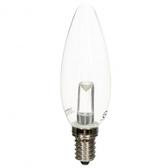 凌尚LED燈泡 1W E14 長尾 黃光