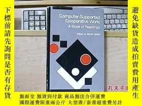 二手書博民逛書店computer-supported罕見cooperative