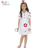 萬聖節兒童演出服裝Cosplay表演衣服女童護士外科醫生白大褂服飾【全館免運】