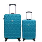 行李箱28+20吋 ABS材質 花花系列【Gate 9】