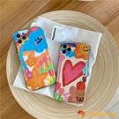買1送1可愛涂鴉插畫12ProMax蘋果XS/XR/SE手機殼iPhone78plus卡通保護套【小獅子】
