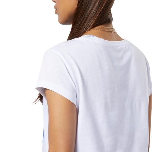 REEBOK ONE SERIES WINTER EASY 女裝 短袖 慢跑 訓練 棉質 寬鬆 白【運動世界】FJ9771