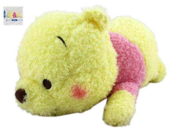【卡漫城】 日版 限量 維尼熊 玩偶  腮紅 ㊣版 收藏 Winnie Pooh 小熊 維尼  絨毛 娃娃 布偶 玫瑰絨