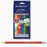 德國施德樓STAEDTLER 可擦拭色鉛筆12 色14450N12