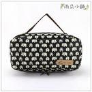 收納包 防水包 雨朵小舖U141-022 面紙收納包-黑河馬14122 funbaobao