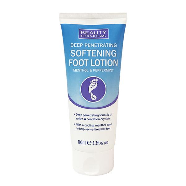 英國製 Beauty Formulas 薄荷護足滋潤乳液 柔膚款 100ml (腳跟 護腳霜)