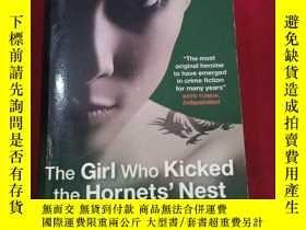 二手書博民逛書店THE罕見Girl who kicked the hornets NestY19672 出版2010
