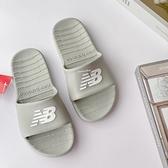 《7+1童鞋》New Balance 韓國限定 一體成形防水拖鞋 9590 灰色
