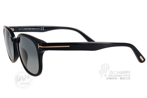 TOM FORD 太陽眼鏡 TOM0399 01N (黑) 完美品味知性簡約款 # 金橘眼鏡