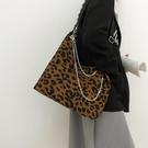 包包女2021新款潮秋冬大容量斑馬紋帆布斜背包大學生上課包托特包