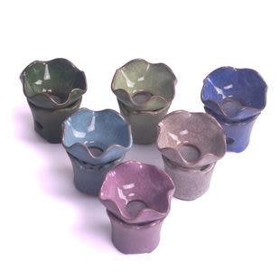 聚瓷閣 茶具配件 冰裂釉過濾