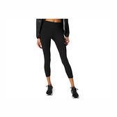 Asics Apparels [2012C096-001] 女 緊身褲 運動 慢跑 訓練 健身 腰繩調整 防水口袋 黑