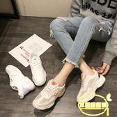 老爹鞋女新款學生韓版百搭厚底休閑運動小白鞋超火網紅智熏鞋