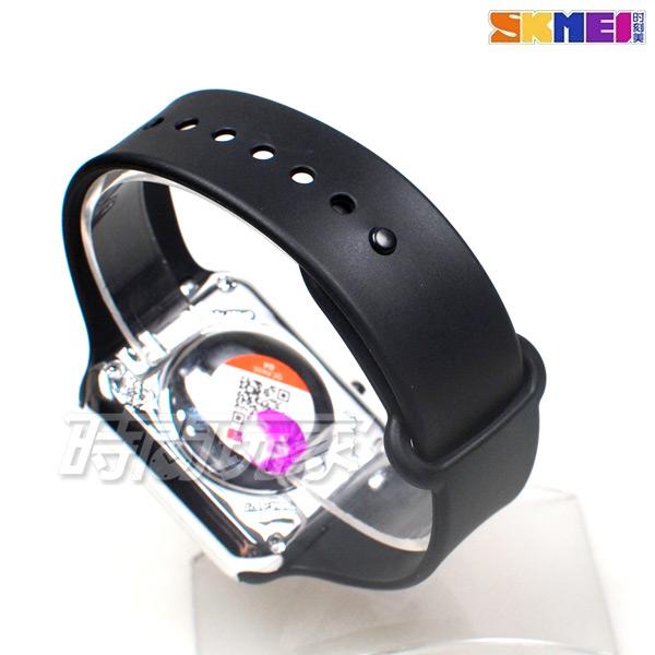 SKMEI時刻美 科技時尚 電子運動錶 女錶 中性錶 男錶 防水手錶 夜光 日期 學生錶 SK1176黑