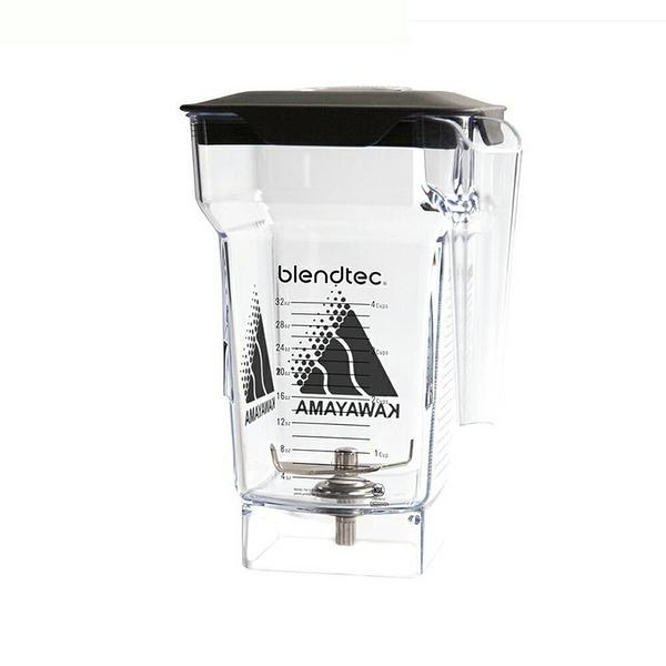 (冰沙杯含蓋子) Blendtec Connoisseur 825美國進口冰沙生機調理機專用冰沙杯--【良鎂咖啡精品館】