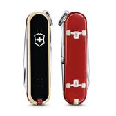 2020 限量上市 VICTORINOX 瑞士維氏限量迷你7用印花瑞士刀-滑板運動