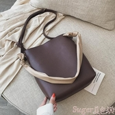 子母包側背包女大包包時尚簡約2020新款學生網紅手提子母百搭ins斜背包 交換禮物