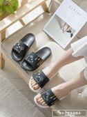 拖鞋女夏2019新款防滑室內居家用外穿浴室洗澡情侶家居涼拖鞋男『韓女王』
