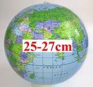 [衣林時尚]英文版 地球儀沙灘球 約25...