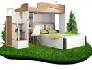 雙層床高架床雙層床上下床高低床多功能高架...