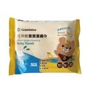 妙妙熊 可沖散寶寶潔膚巾 (15抽/包)【杏一】