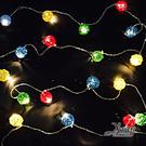 節慶王【X411502】20燈LED藤球...