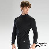 PolarStar 彈性保暖排汗套頭衫 黑
