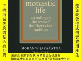 二手書博民逛書店Buddhist罕見Monastic LifeY255562 Mohan Wijayaratna Cambri