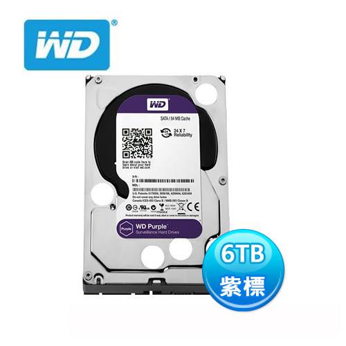 威騰 WD 紫標 3.5吋 6tb 監控硬碟 WD60PURZ