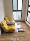 單人沙發懶人小戶型臥室簡易折疊小沙發女生宿舍陽臺榻榻米靠背椅 快速出货Q