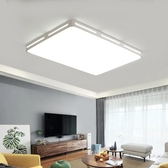 吸頂燈 LED吸頂燈簡約現代長方形客廳燈大氣臥室燈創意吊燈房間陽臺燈具