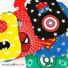 超人蝙蝠俠英雄系列兒童圍兜 口水巾