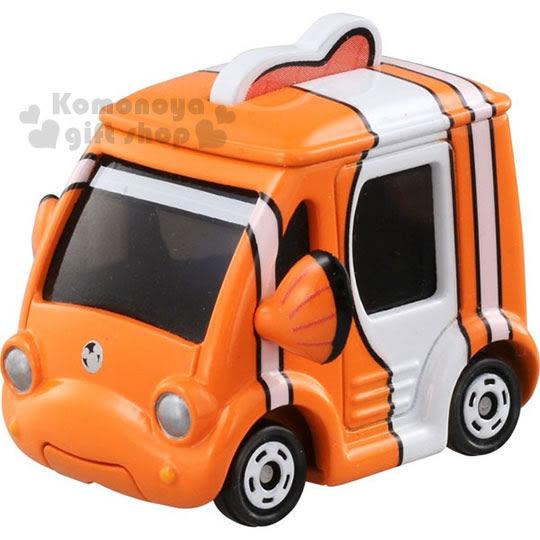 〔小禮堂〕海底總動員2 TOMICA小汽車《橘.nemo》經典造型值得收藏 4904810-86482