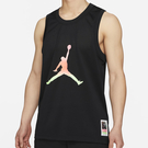 NIKE Jordan Sport DNA 男裝 背心 球衣 籃球 休閒 透氣 印花 黑【運動世界】CZ4860-010