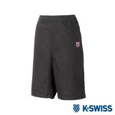 K-SWISS Essential Shorts休閒棉質短褲-男-黑