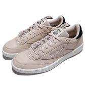 Reebok 休閒鞋 Club C 85 IT 灰 白 皮革鞋面 基本款 復古設計 男鞋【PUMP306】 BS8255