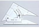 恰德美製圖用勾配定規12寸/30cm *AST-12G