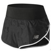 New Balance 女裝 短褲 慢跑 小口袋 迷彩 反光貼條 黑【運動世界】WS81261BKK