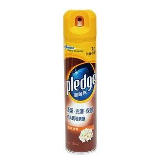 pledge 碧麗珠 家俱護理噴蠟-百花清香 330ml【康鄰超市】
